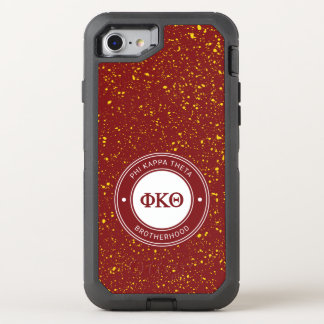 Phi Kappa Theta | Badge OtterBox Defender iPhone 8/7 Case