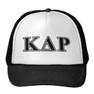 Phi Kappa Theta Black Letters Cap