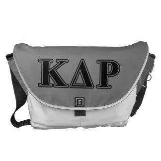 Phi Kappa Theta Black Letters Commuter Bags