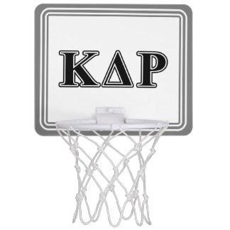 Phi Kappa Theta Black Letters Mini Basketball Hoop