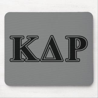 Phi Kappa Theta Black Letters Mouse Mat