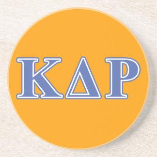 Phi Kappa Theta Blue Letters Coaster