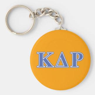 Phi Kappa Theta Blue Letters Key Ring