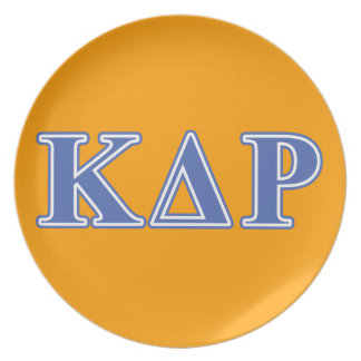 Phi Kappa Theta Blue Letters Plate