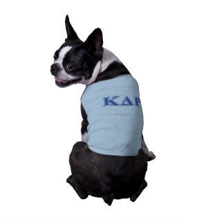 Phi Kappa Theta Blue Letters Shirt