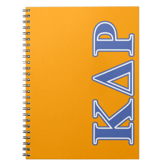 Phi Kappa Theta Blue Letters Spiral Notebook