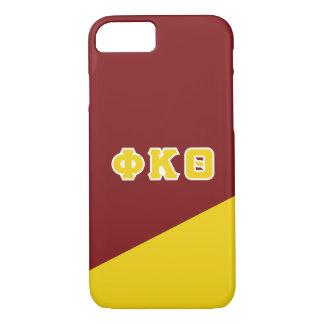 Phi Kappa Theta   Greek Letters iPhone 8/7 Case