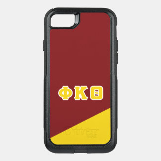 Phi Kappa Theta | Greek Letters OtterBox Commuter iPhone 8/7 Case