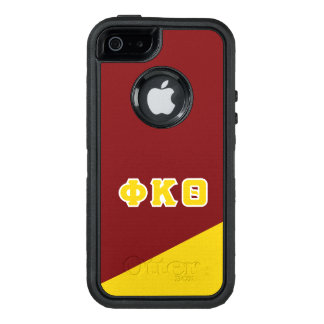 Phi Kappa Theta | Greek Letters OtterBox Defender iPhone Case