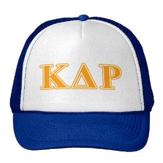 Phi Kappa Theta Orange Letters Cap