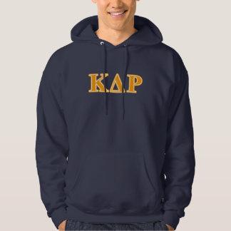 Phi Kappa Theta Orange Letters Hoodie