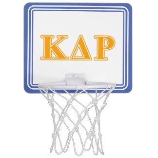 Phi Kappa Theta Orange Letters Mini Basketball Hoop