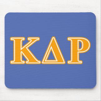 Phi Kappa Theta Orange Letters Mouse Mat