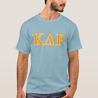 Phi Kappa Theta Orange Letters T-Shirt