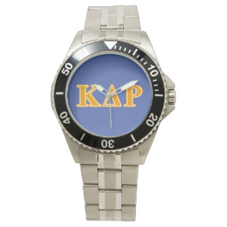 Phi Kappa Theta Orange Letters Watch