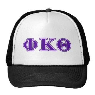 Phi Kappa Theta Purple Letters Cap