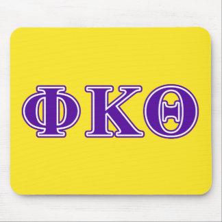 Phi Kappa Theta Purple Letters Mouse Pad