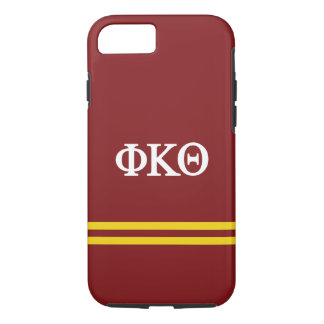 Phi Kappa Theta   Sport Stripe iPhone 8/7 Case