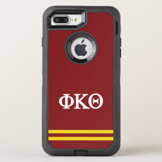 Phi Kappa Theta | Sport Stripe OtterBox Defender iPhone 7 Plus Case