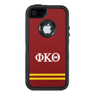 Phi Kappa Theta | Sport Stripe OtterBox Defender iPhone Case