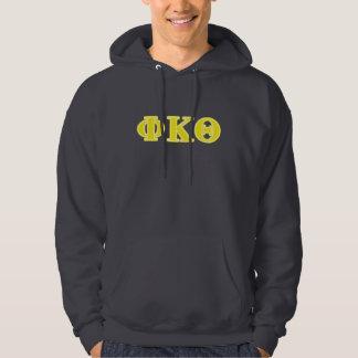 Phi Kappa Theta Yellow Letters Hoodie