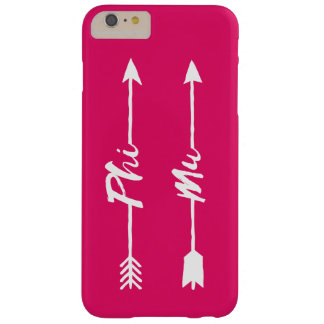 Phi Mu Arrow Barely There iPhone 6 Plus Case