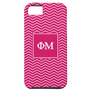 Phi Mu | Chevron Pattern Case For The iPhone 5