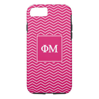 Phi Mu | Chevron Pattern iPhone 7 Case