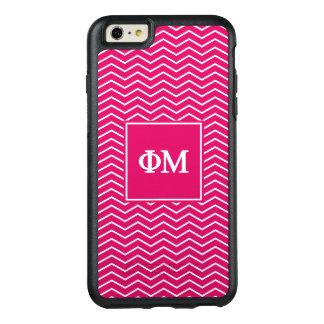 Phi Mu | Chevron Pattern OtterBox iPhone 6/6s Plus Case