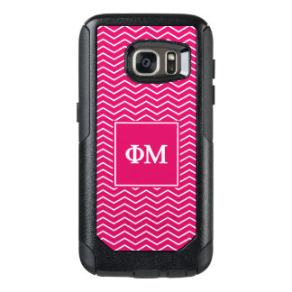 Phi Mu | Chevron Pattern OtterBox Samsung Galaxy S7 Case