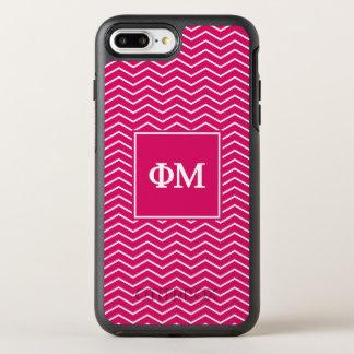 Phi Mu | Chevron Pattern OtterBox Symmetry iPhone 7 Plus Case