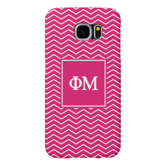 Phi Mu | Chevron Pattern Samsung Galaxy S6 Cases