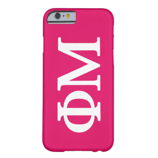 Phi Mu Lil Big Logo Barely There iPhone 6 Case
