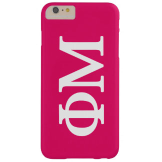 Phi Mu Lil Big Logo Barely There iPhone 6 Plus Case