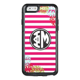 Phi Mu | Monogram Stripe Pattern OtterBox iPhone 6/6s Case