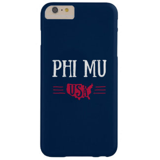 Phi Mu - USA Barely There iPhone 6 Plus Case