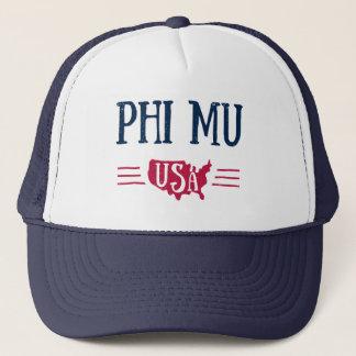 Phi Mu - USA Trucker Hat