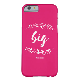 Phi Mu Wreath Big Barely There iPhone 6 Case