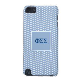 Phi Sigma Sigma | Chevron Pattern iPod Touch 5G Case