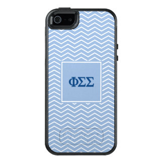 Phi Sigma Sigma | Chevron Pattern OtterBox iPhone 5/5s/SE Case