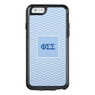 Phi Sigma Sigma | Chevron Pattern OtterBox iPhone 6/6s Case