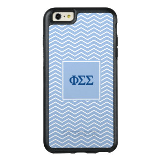 Phi Sigma Sigma | Chevron Pattern OtterBox iPhone 6/6s Plus Case