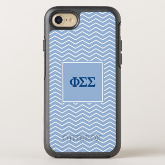 Phi Sigma Sigma | Chevron Pattern OtterBox Symmetry iPhone 7 Case