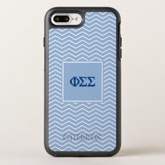 Phi Sigma Sigma | Chevron Pattern OtterBox Symmetry iPhone 8 Plus/7 Plus Case