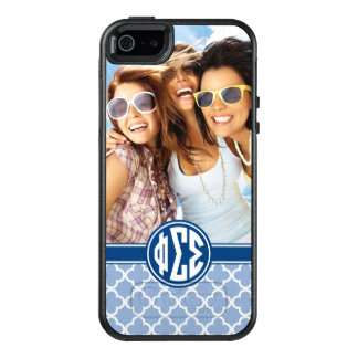 Phi Sigma Sigma | Monogram and Photo OtterBox iPhone 5/5s/SE Case