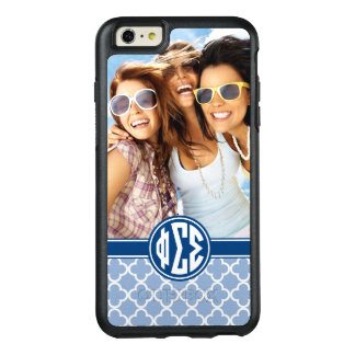 Phi Sigma Sigma | Monogram and Photo OtterBox iPhone 6/6s Plus Case