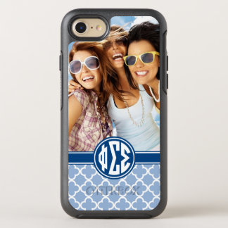 Phi Sigma Sigma | Monogram and Photo OtterBox Symmetry iPhone 8/7 Case