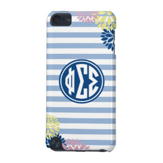 Phi Sigma Sigma | Monogram Stripe Pattern iPod Touch (5th Generation) Covers