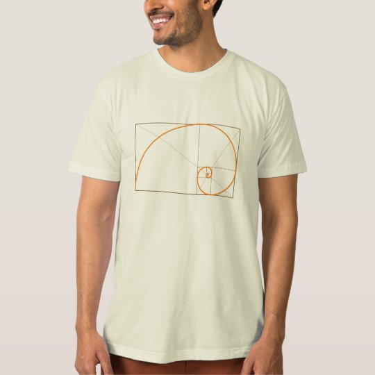 Phi, the Golden Ratio. (organic colours) T-Shirt