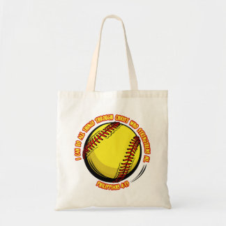 PHIL.413 - SOFTBALL BUDGET TOTE BAG
